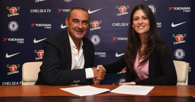 Maurizio Sarri had to address accusations of homophobia and sexism in Chelsea talks | JOE.co.uk