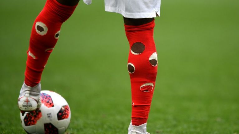 There's a very good reason that Danny Rose has holes in his socks