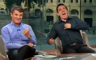 Roy Keane roasts Gary Neville after he tries to defend Phil Jones mistake