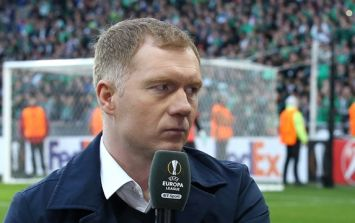 Paul Scholes reveals the most hostile game he ever played in for Man United