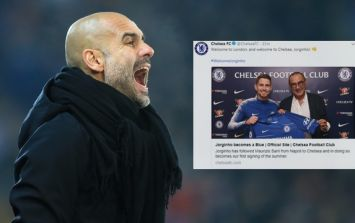 Manchester City are furious about Chelsea's first major signing of the summer