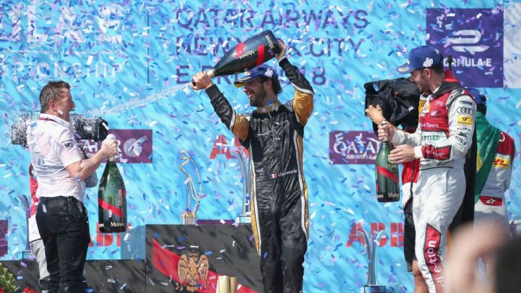Newly crowned Formula E champion Jean-Eric Vergne wins season finale in New York