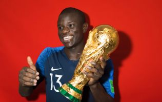 What happened when N'Golo Kanté got the World Cup trophy sums him up perfectly
