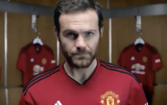 Video showing Juan Mata modelling Man United's new home shirt is leaked