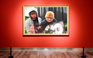 Introducing the hardest photograph of our time, featuring Eminem and Ed Sheeran