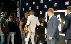 Anthony Joshua involved in heated confrontation with Jarrell Miller
