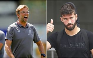 Supporters have some advice for Jurgen Klopp if Alisson does arrive this summer