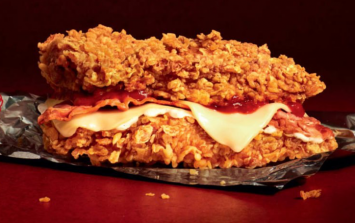 KFC is releasing the first ever Zinger Double Down in the UK
