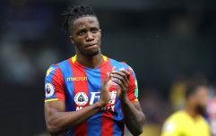 Wilfried Zaha pushing for Tottenham move after turning down new contract