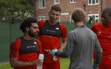 Liverpool supporters will be delighted with Mo Salah's reaction to fitness test