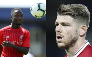 What Naby Keita has been doing in Liverpool training has really impressed Alberto Moreno