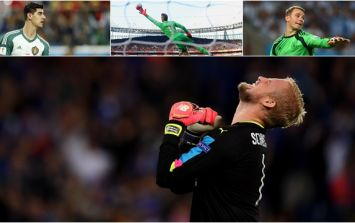 Kasper Schmeichel declared one of the top three goalkeepers in the world