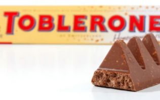 Toblerone bars are going back to their original shape, and all is right with the world