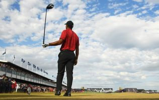 Fan ejected from The Open for shouting during Tiger Woods' final drive