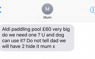 12 texts you'll get from your Mum during the heatwave