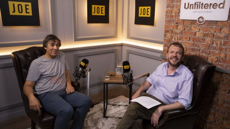 Unfiltered with James O'Brien   Episode 40: Mark Steel
