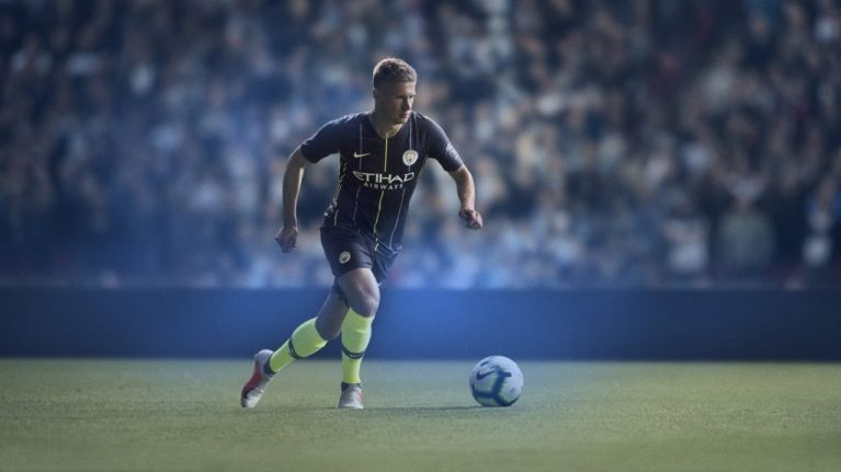 Manchester City s new away kit is reminiscent of one of their most famous  ever e924462ec