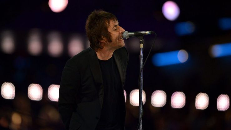WATCH: Liam Gallagher fuming after fish thrown at him as he plays Cigarettes & Alcohol at festival