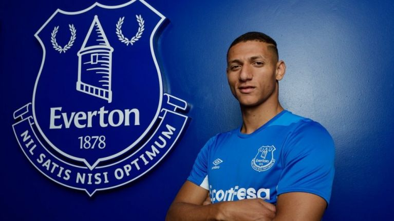 Everton confirm signing of Richarlison from Watford for £40m