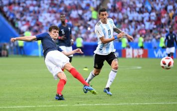 Benjamin Pavard wins World Cup goal of the tournament