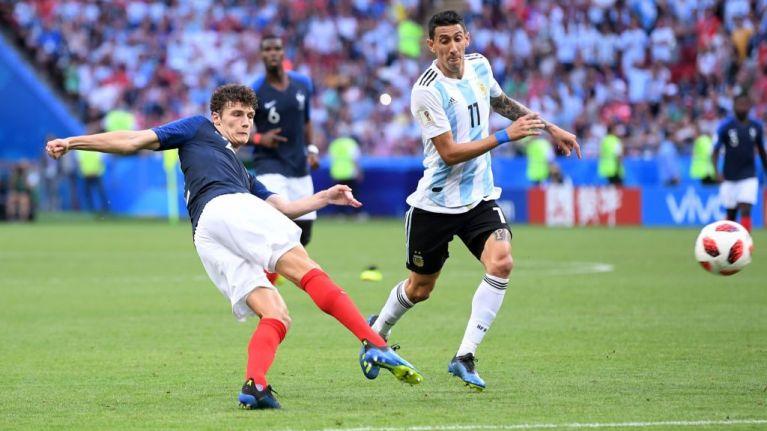 Benjamin Pavard wins World Cup goal of the tournament