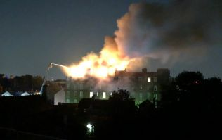 Dozens evacuated as fire rips through North London luxury flats