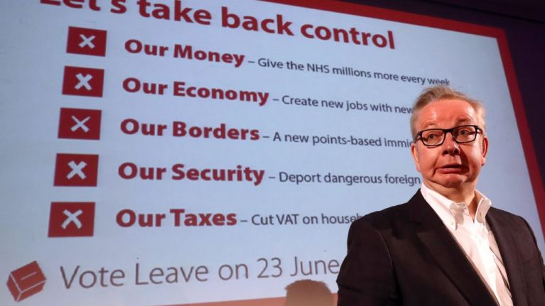 Facebook publishes dark ads used by Vote Leave during referendum campaign