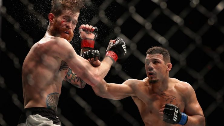 UFC fighter absolutely demolishes opponent in return from gruesome testicle injury