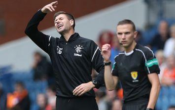 Steven Gerrard admits Rangers' pursuit of Manchester City defender is over