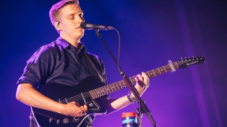 George Ezra once played to 80,000 people and spotted his ex in the crowd