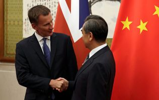 Jeremy Hunt forgets what country his wife is from during recent China trip