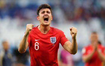 England fans loved Harry Maguire's Love Island Final tweet