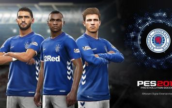 Rangers announced as Pro Evolution Soccer's official partner club for PES 2019