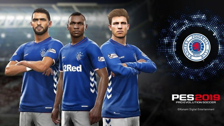 rangers announced as prove evolution soccer s official partner club
