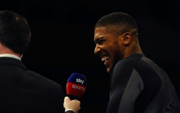 Anthony Joshua names the only two fighters he is interested in fighting next