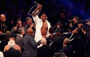 Deontay Wilder could learn a lot from these words from Anthony Joshua