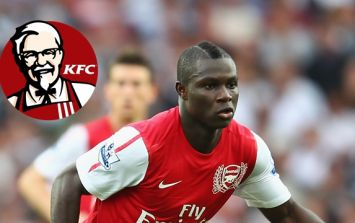 Ex-Arsenal midfielder claims former teammate would eat KFC before games