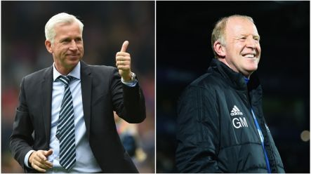 Alan Pardew's comment to West Brom's caretaker manager now seems