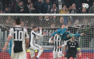 The entire Juventus Stadium gave Cristiano Ronaldo a standing ovation after he scored this worldie