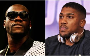 Deontay Wilder accepts Anthony Joshua challenge to fight in the UK