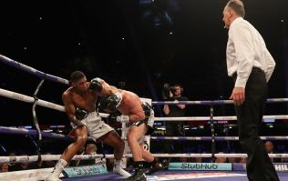 Rival's promoter not happy with Anthony Joshua's gamesmanship in round nine