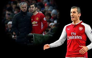 Henrikh Mkhitaryan fires yet another salty shot at Jose Mourinho