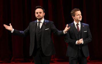 ITV's big call: Ant McPartlin will return to Britain's Got Talent