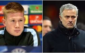 Kevin De Bruyne claims that he only spoke to Jose Mourinho twice while at Chelsea
