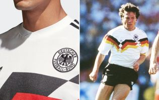 Adidas' brand new Germany World Cup shirt is a classy reproduction of the 1990 classic