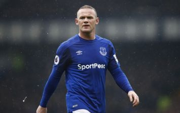 Wayne Rooney was furious after getting substituted against Liverpool
