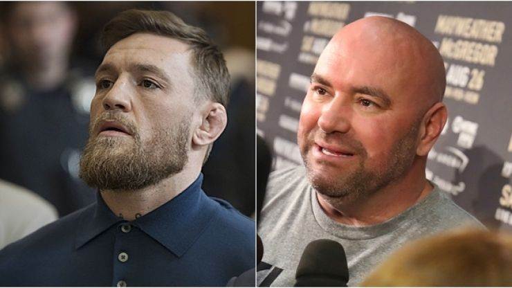 Dana White admits to concerns over Conor McGregor's mental health