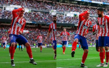 Antoine Griezmann's unusual celebration in the Madrid Derby has been explained