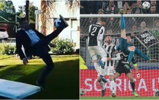 Argentine journalist ends up in hospital after attempting to recreate Cristiano Ronaldo's golazo