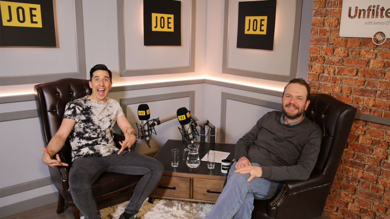 Unfiltered with James O'Brien | Episode 26: Russell Kane